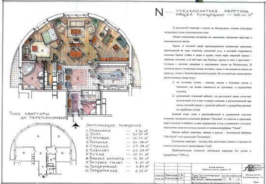 План дизайна интерьера